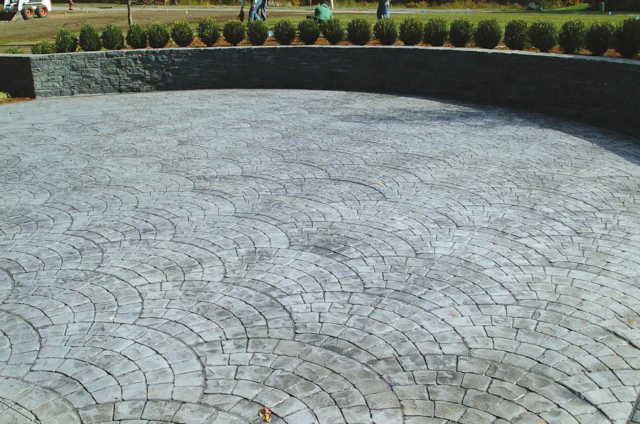 Stamped Concrete Triad Associates