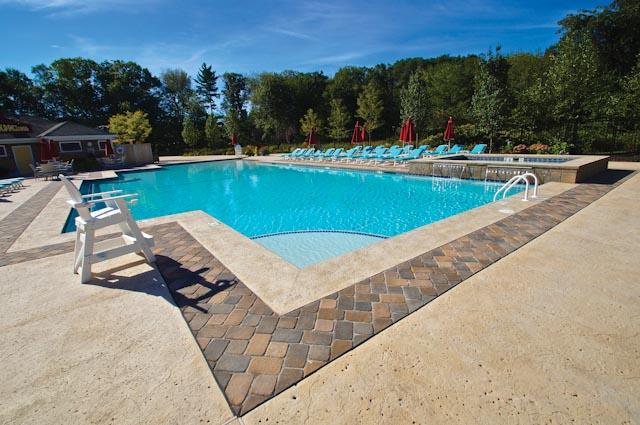 Beautiful Swimming Pool Patios | Triad Associates