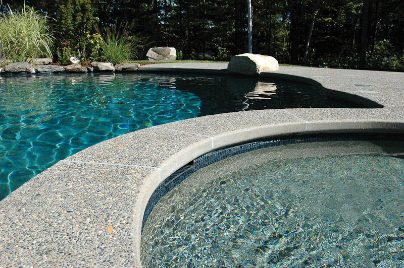 Swimming Pool Coping Installation by Triad | Triad Associates