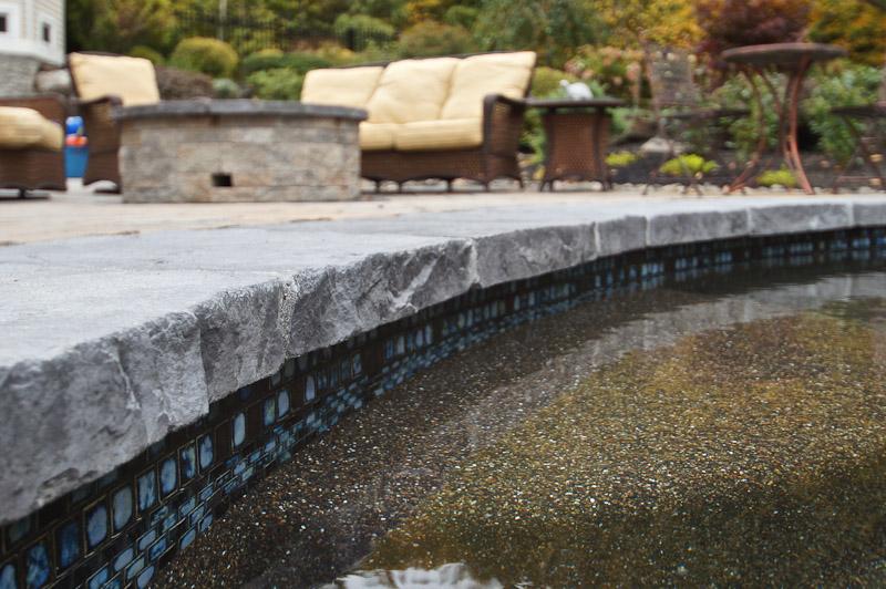 Swimming Pool Coping Installation by Triad | Triad Associates