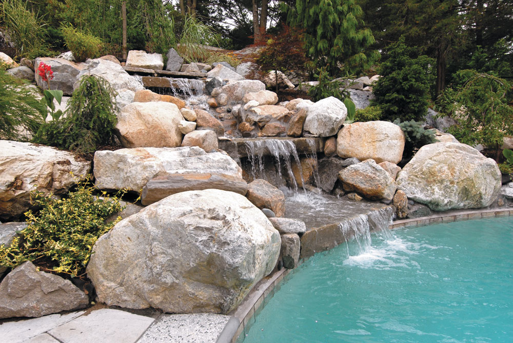 Natural Stone Waterfalls By Triad Associates Triad